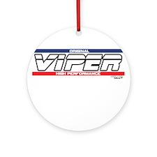 Viper Ornament (Round)