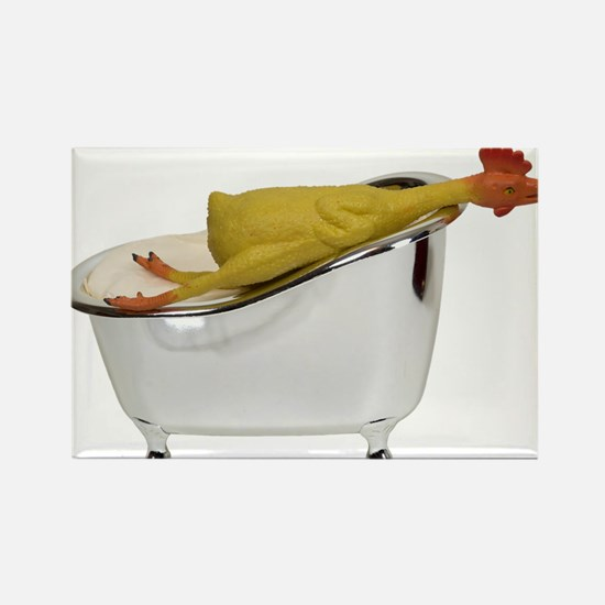 Bathroom jokes Rectangle Magnet