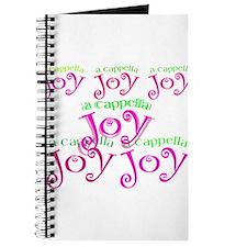 a cappella joy sings! Journal
