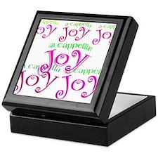 a cappella joy sings! Keepsake Box