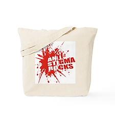 Anti-Stigma Rocks Tote Bag