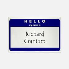 Richard Cranium Rectangle Magnet