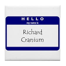 Richard Cranium Tile Coaster