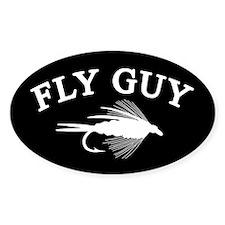 FLY GUY Oval Sticker (10 pk)