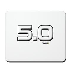 5.0 Plain Mousepad