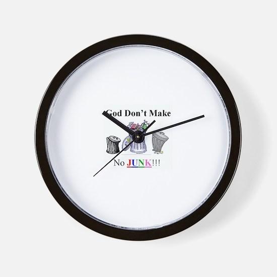 Funny Savion christmas Wall Clock