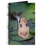 Garden Baby Mermaid Journal