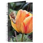 Tulip Flower Baby Journal
