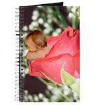 Rose Flower Baby Journal