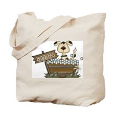 Dog Bath Tote Bag