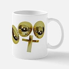 Golden Easter Eggs Mug