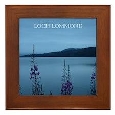 Loch Lommond Scotland Framed Tile