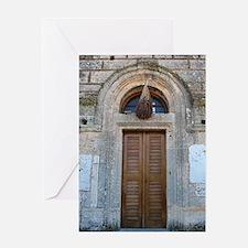 Cute Greek orthodox Greeting Card