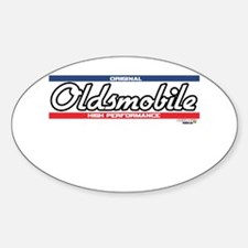 Oldsmobile Oval Decal