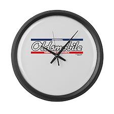 Oldsmobile Large Wall Clock