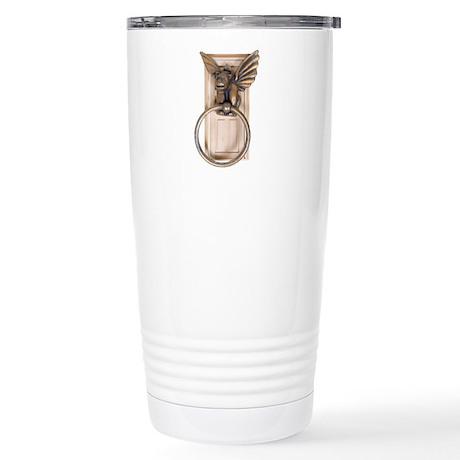 Gargoyle door knocker Stainless Steel Travel Mug