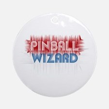 Pinball Wizard Ornament (Round)
