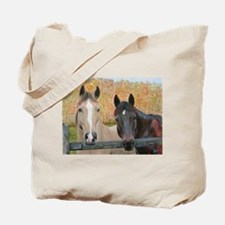 Cute Ponies Tote Bag