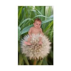 Dandelion Flower Baby Rectangle Decal