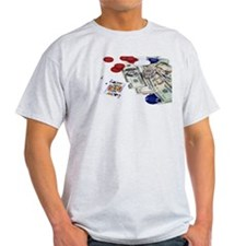 Gambling money T-Shirt