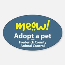 Adopt a Pet from Frederick County sticker