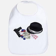 Gangster gambling kit Bib