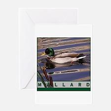 Unique Mallard duck Greeting Card