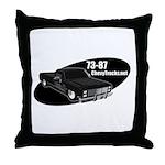 73-87 Logo Throw Pillow