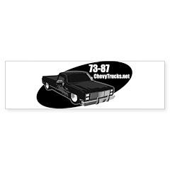 73-87 Logo Bumper Bumper Sticker