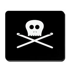 Craft Pirate Crochet Mousepad