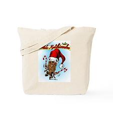 Dancing Christmas Tiki Tote Bag