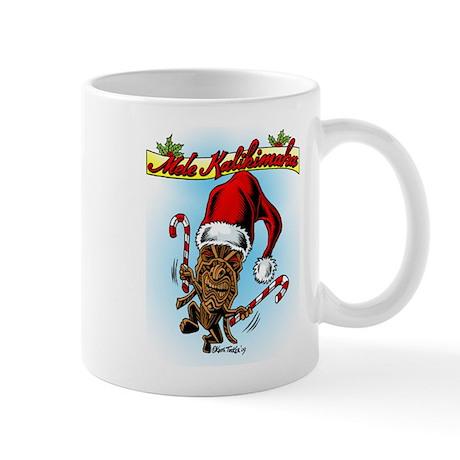 Dancing Christmas Tiki Mug