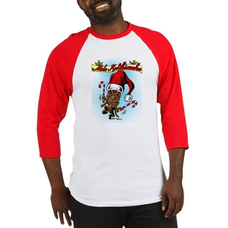 Dancing Christmas Tiki Baseball Jersey