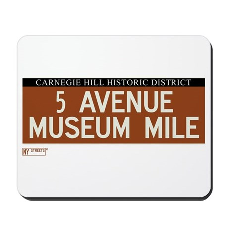 5th Avenue in NY Mousepad