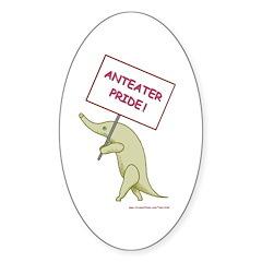 Anteater Pride Oval Sticker