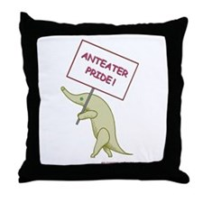 Anteater Pride Throw Pillow