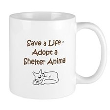 Cat Adoption Mug