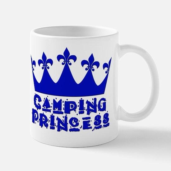 Camping Princess - Blue Mug