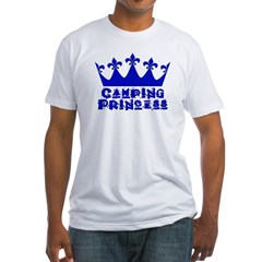 Camping Princess - Blue Shirt