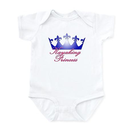 Kayaking Princess - Blue/Pink Infant Bodysuit