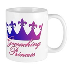 Geocaching Princess - Blue & Mug