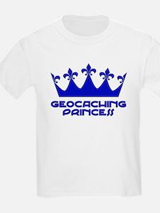 Geocaching Princess - Blue3 T-Shirt