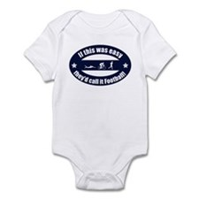 If Triathlon was easy...Football Infant Bodysuit