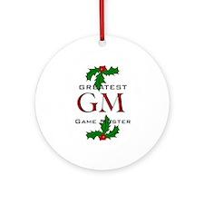 GM Ornament (Round)