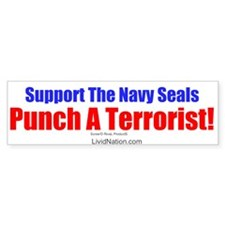 Support The Navy Seals! Bumper Bumper Sticker