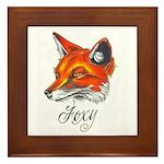 Foxy Framed Tile