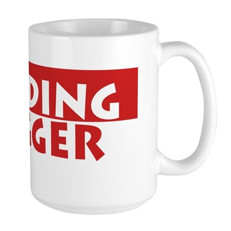 Building Hugger Large Mug