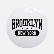 Brooklyn New York Ornament (Round)