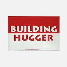 Building Hugger Rectangle Magnet