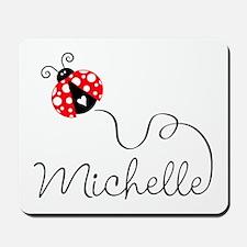 Ladybug Michelle Mousepad